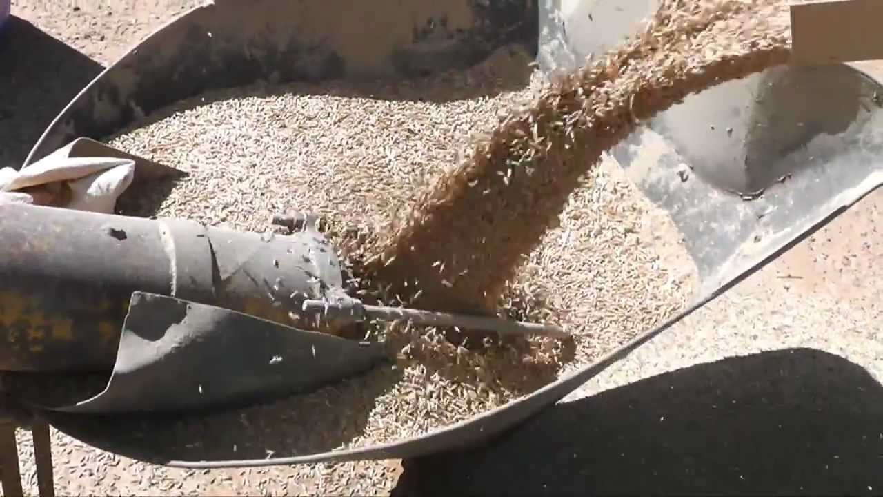 Oats Cleaning with a Kwik Kleen